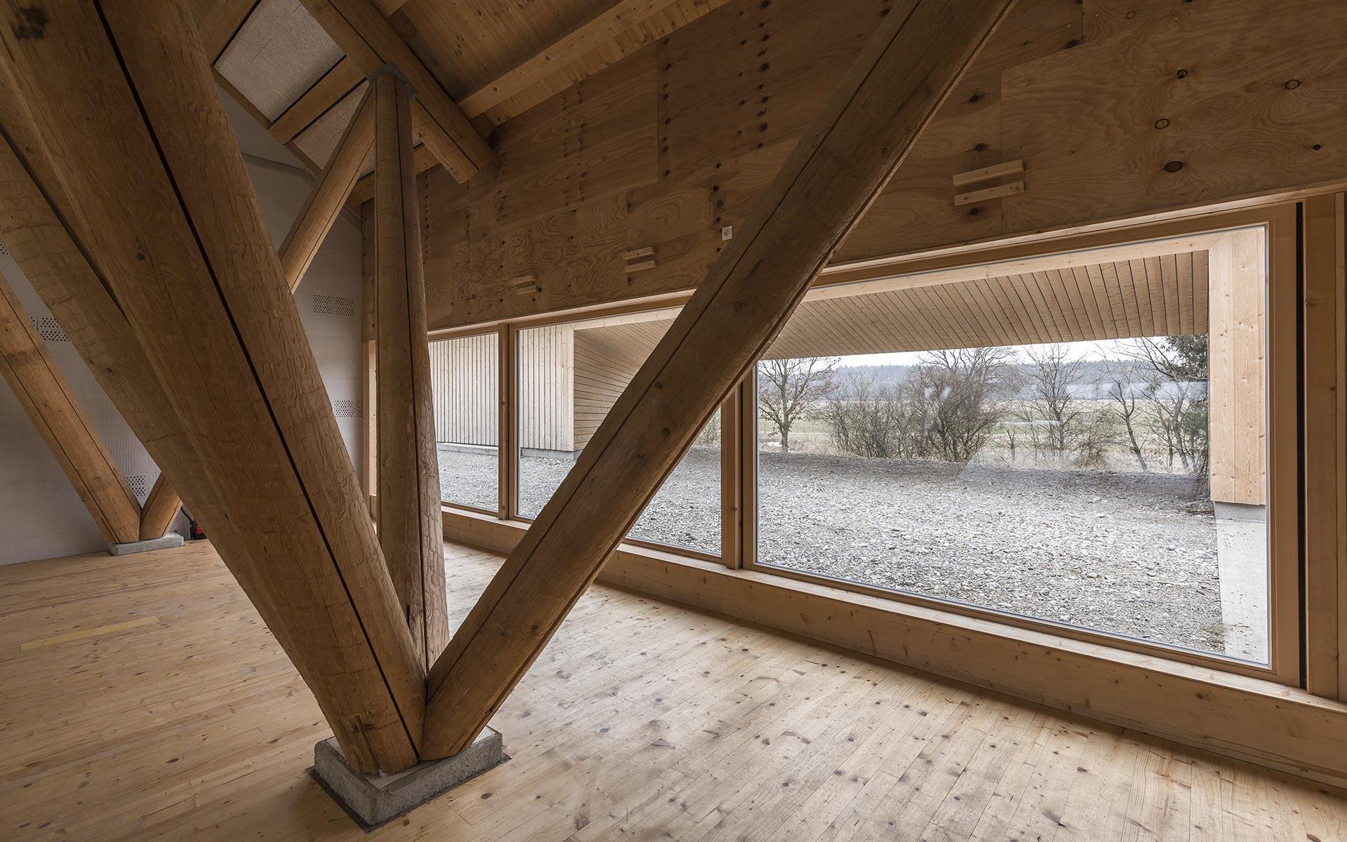 HoSchMi-Stadel Holzgünz Schwaighausen | AL1 Architekten, München | Bild: Marc Brugger