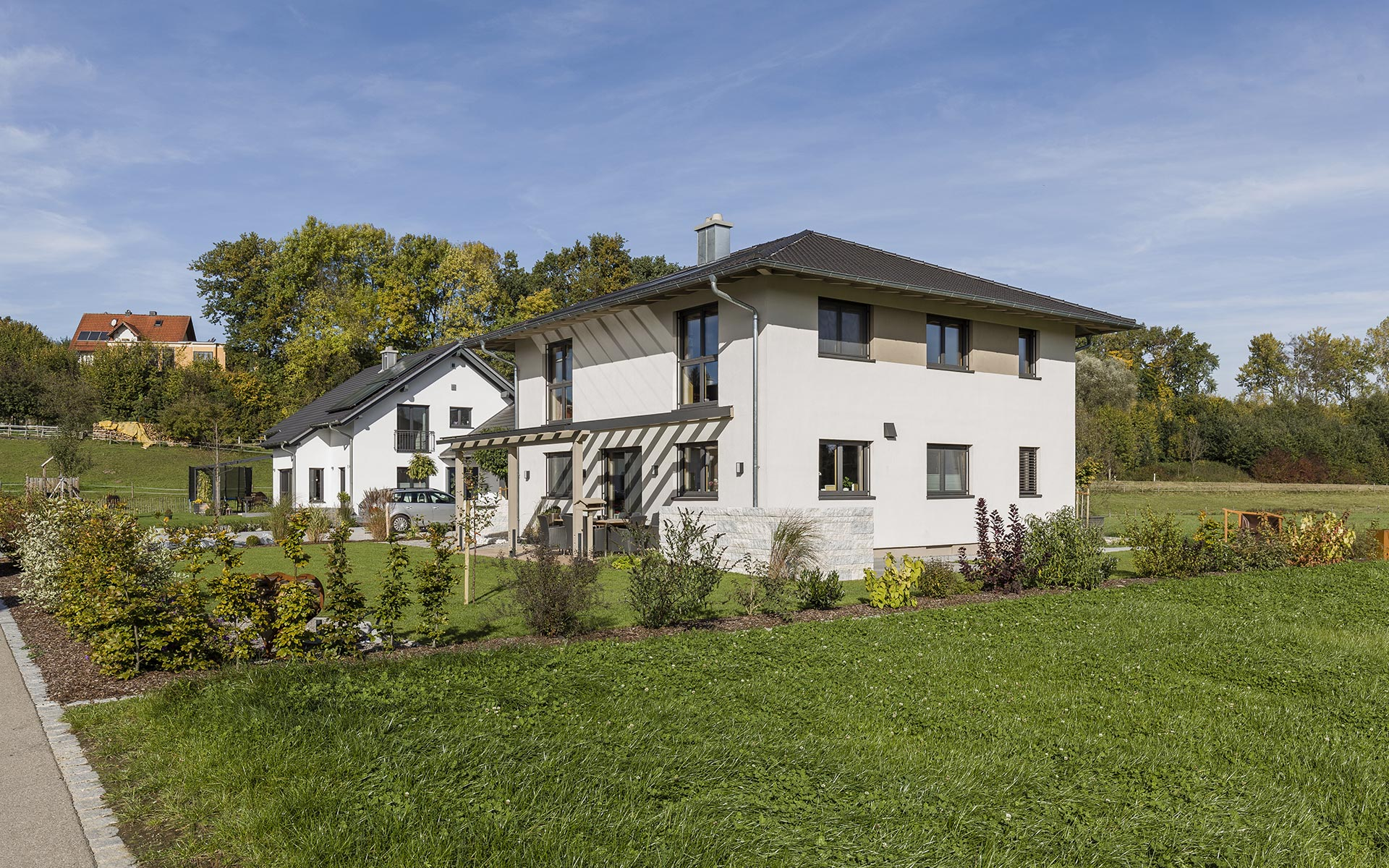 Modernes Massivholzhaus von syno-r