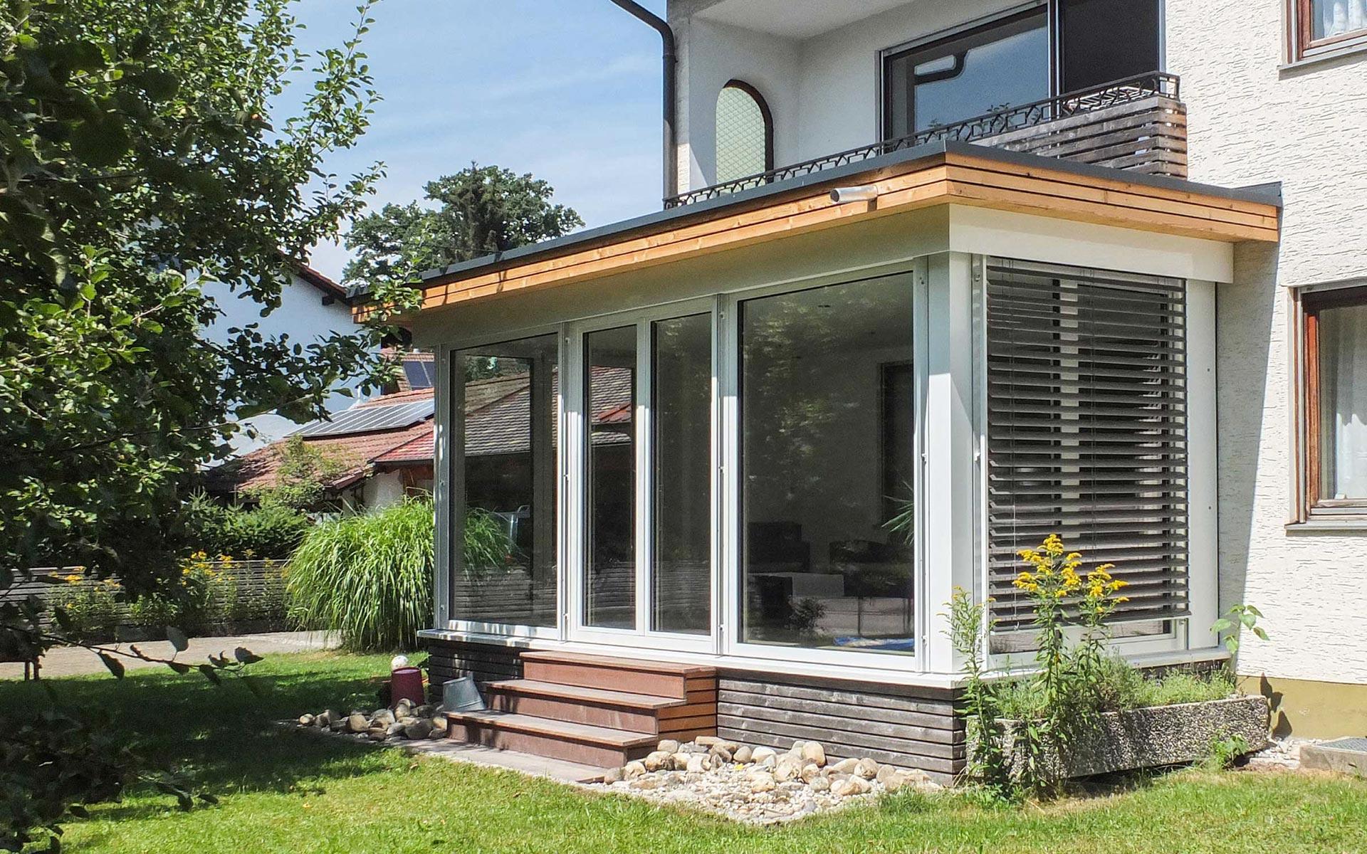 Mehr Wohnraum mit einem Wintergarten